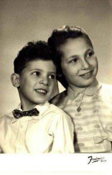 Leah and Leon Krolik (abt 1958)