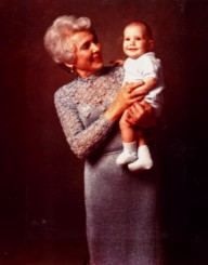 Toby and her grandson Dani Goldstein (ABT 1973)